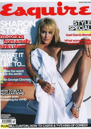 Sharon Stone for Esquire
