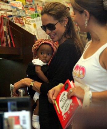 Анжелина Джоли растит новую Наоми Кэмпбл