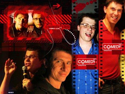 Обои Comedy Club