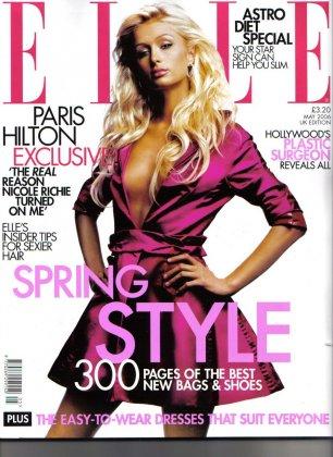 Пэрис Хилтон в Elle