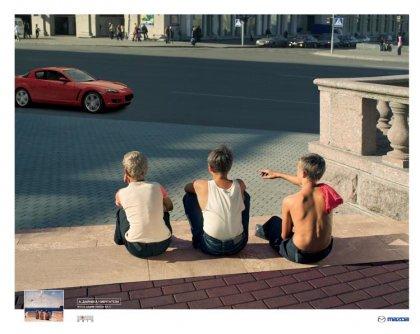Креативнейшая реклама Mazda