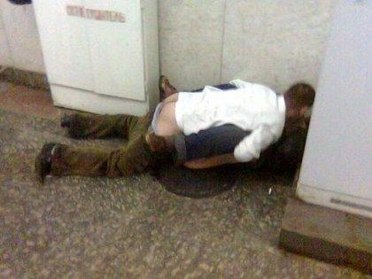 Обычный случай в московском метро =)