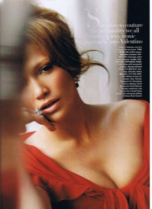 J.Lo for Harper's Bazaar
