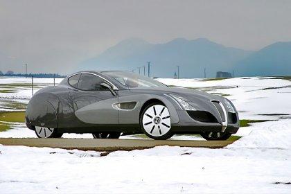 Русский суперкар на базе Mercedes CL 65 AMG.