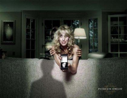 Креативная реклама ювелира. Супер!