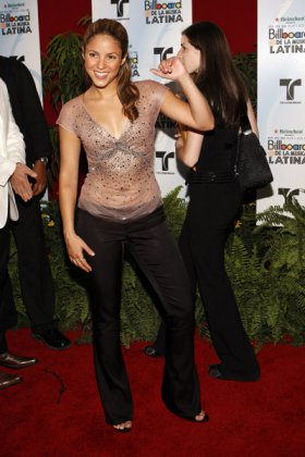Shakira на Billboard Latin Music Awards 2006