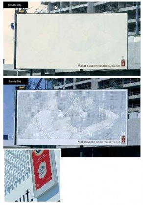 Креативная реклама. До чего только не додумаются.