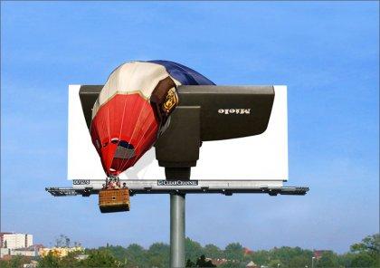 Креативная реклама пылесоса