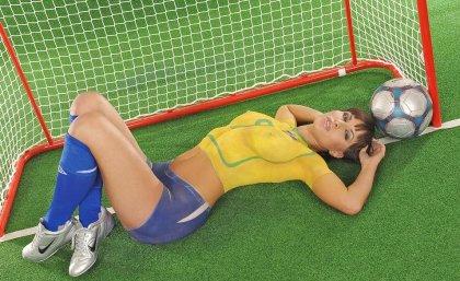 Чемпионат мира по футболу 2006 в голом виде (18+)