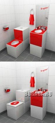 Туалетный ребрендинг
