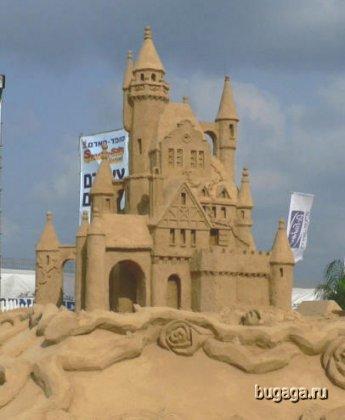 Песчаные замки и другие сооружения...