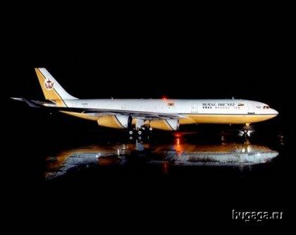 Самолёт султана Брунея