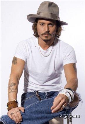 Красавчик Джонни Депп (Johnny Depp)