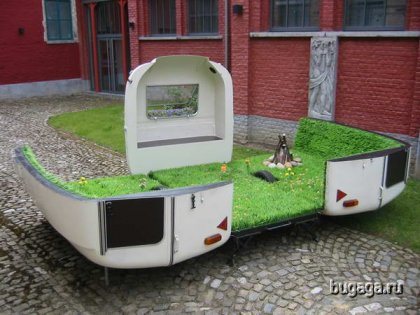 Оригинальный фургон...