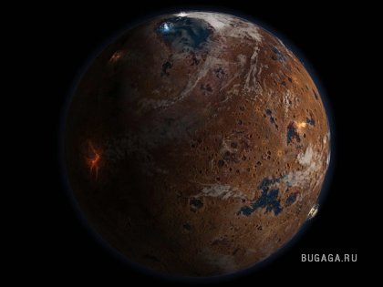 Марс - внеземная красота