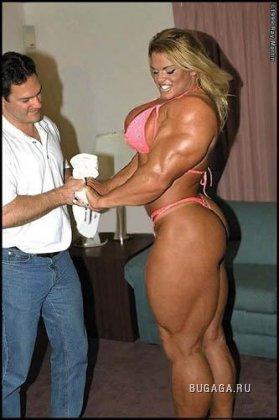 Самые сильные женщины мира (впечатляющее фото)