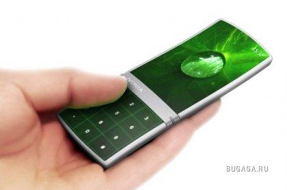 Концептуальный телефон Nokia Aeon