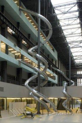В Европе придумали и практикуют новый вид лифтов