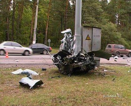 Жёсткая авария Chevrolet
