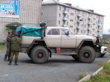 Волга-внедорожник. Фантастический тюнинг, ФОТО