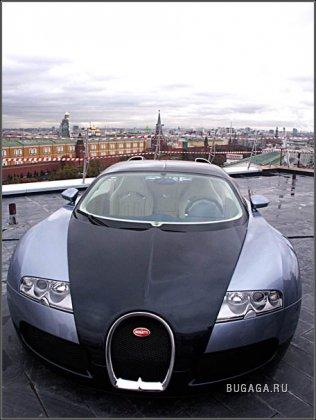 Bugatti Veyron en Moscú - Auto para los elegidos de Dios
