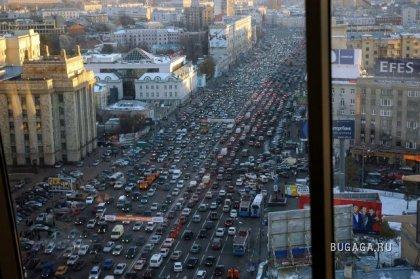 Московский траффик. Какие пробки?