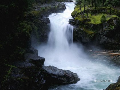 nature Cascade chute d eau etoileb 238 Planete wallpapers.