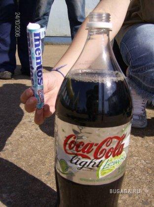 MENTOS вместе с Coca-Cola