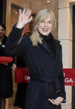Nicole Kidman на промо-акции Omega
