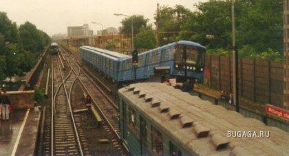 Жутики московского метро (16 фотографий)