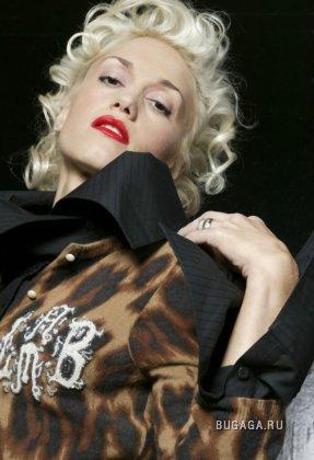 Gwen Stefani в гламурной фотосессии.