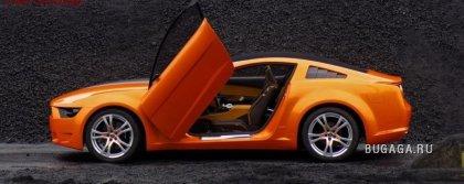 Новый Mustang Shelby