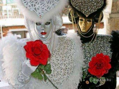 Фестиваль костюмов в Венеции