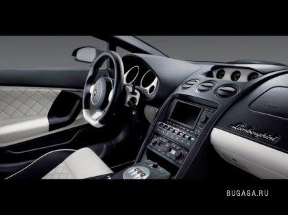 Lamborghinis - Gallardo Nera and Murcielago Versace