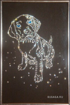 Хрустальные картины, подарок на новый год