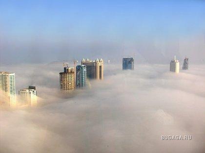 Небоскребы и облака