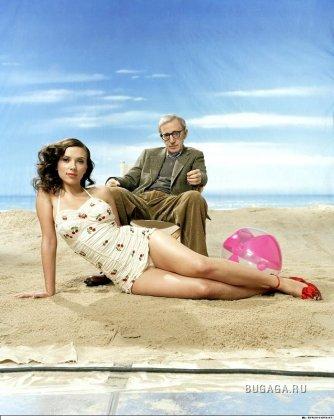 Позитив от Scarlett Johansson и Woody Allen