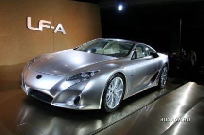 500-сильный Lexus LF-A показали в Детройте