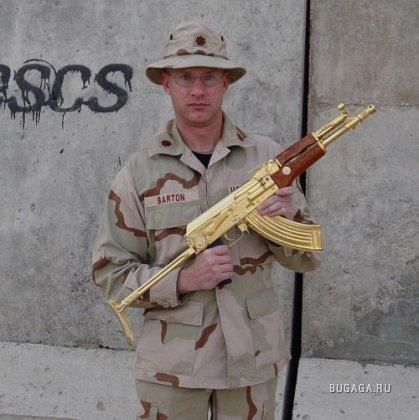 Золотой АК-47 Саддама Хусейна