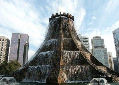 Красивые фонтаны...