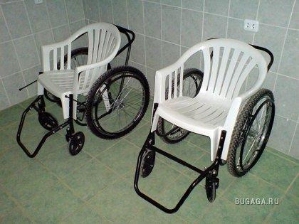 Тюнинг инвалидного кресла (не фотожаба)