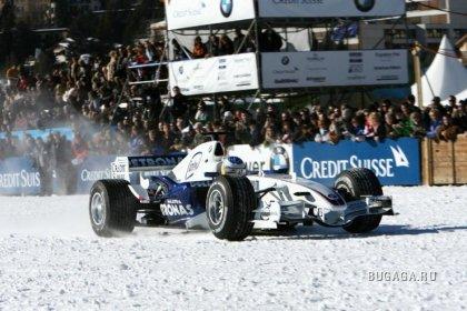BMW на льду