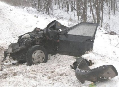 УАЗ Патриот против ВАЗ-2109
