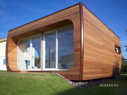 Прикольный домик с необычными комнатами (6 фото)