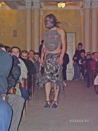 Показ мод в Луганске
