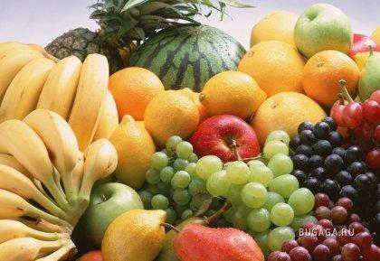 фрукты... и немного сладкого