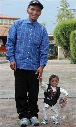 Самый маленький человек в мире весит 4.5 кг