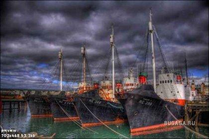 Корабли в HDR