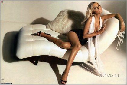 Кристина Агилера для журнала Maxim и нового клипа