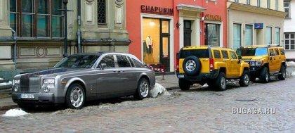 Машины Латвии